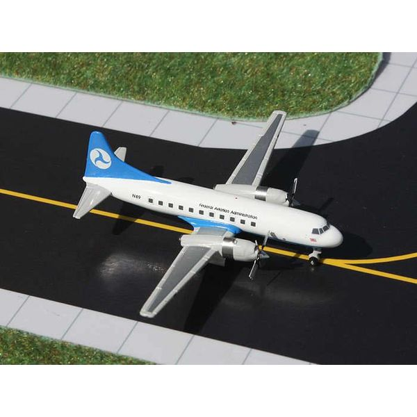 Gemini Jets CV580 FAA Federal Aviation Administration 1:400