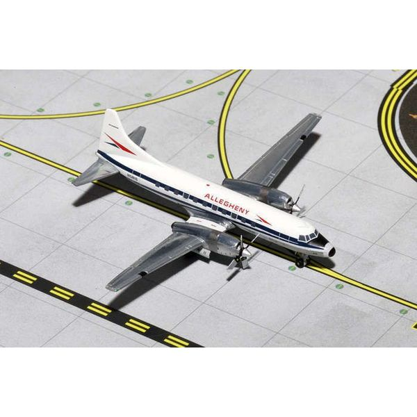 Gemini Jets CV580 Allegheny N5816 1:400 with stand