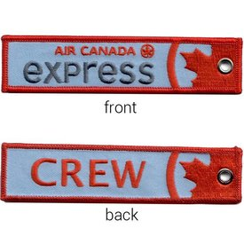 KEY CHAIN AIR CANADA EXPRESS CREW EMBROIDERED