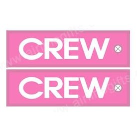 KEY CHAIN CREW PINK