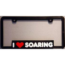 avworld.ca Licence Plate Frame I Love Soaring