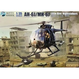 Kitty Hawk Models KITTY AH6J/MH6J LITTLE BIRD NIGHTSTALKERS :35