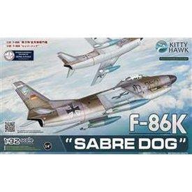 Kitty Hawk Models KITTY F86K SABRE DOG GERMAN 1:32