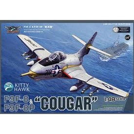 Kitty Hawk Models KITTY F9F/F9F8P COUGAR USN/BLUE ANGELS 1:48