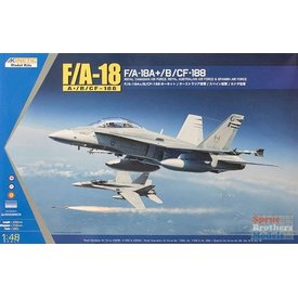 KINETIC F18A+/B/CF-188A RCAF 1:48 SCALE KIT FROM KINETIC