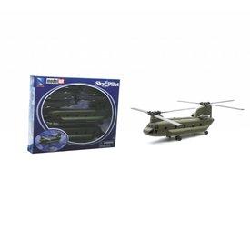 NewRay CH47 Chinook US Army 1:60 Kit Prepainted Sky Pilot