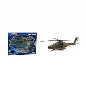 NewRay AH64 Apache US Army 1:55 Prepainted Kit Sky Pilot