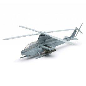NewRay AH1Z Cobra Zulu US Marine Corps Grey 1:55 Diecast Sky Pilot