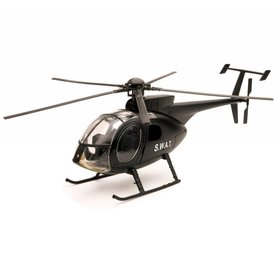NewRay NH500 Helicopter SWAT Police 1:32 Diecast Sky Pilot