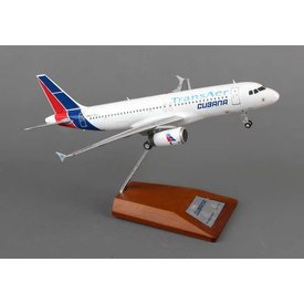 JCWINGS A320 Cubana Transaer 1:200 with Stand