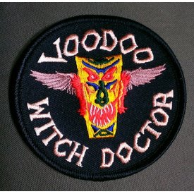 avworld.ca Patch Voodoo Witch Doctor