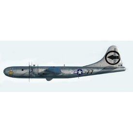 Air Force 1 Model Co. B29 Superfortress Bockscar (With Fat Man bomb) 1:144 (1:72)