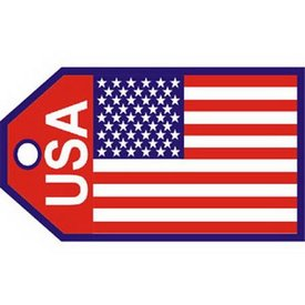 Luggage Tag Usa Flag