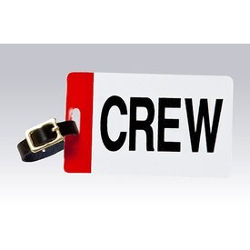 Luggage Crew Tag Plain
