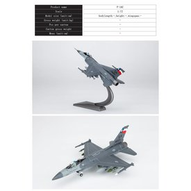 Air Force 1 Model Co. F16C Viper 149FW SA Lone Star Gunfighters Col Jack Presley 1:72