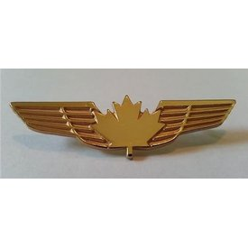 Pin Canadian Wings Gold Large CPS 2-1/4""
