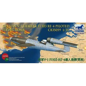 Bronco Model Kits BRONCO V1 FI103 RE4 FLYING BOMB 1:35