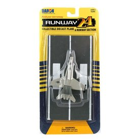 RUNWAY24 F18 Hornet US Navy grey with runway section