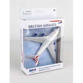A380 British Airways Single Plane