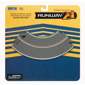 Runway 24 Runway Curves (2 Pieces)