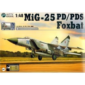 Kitty Hawk Models KITTY MIG25PD/PDS FOXBAT 1:48