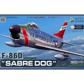 Kitty Hawk Models KITTY F86D SABRE DOG USAF 1:32