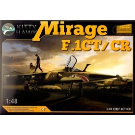 Kitty Hawk Models KITTY MIRAGE FICT/CR FRENCH 1:48