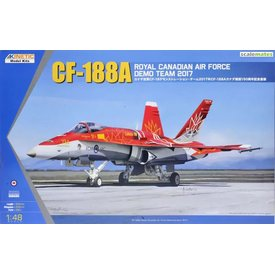 KINETIC KINET CF-188A RCAF DEMO TEAM 2017 1:48 RED