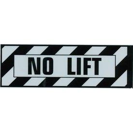 Aircraft Placard No Lift
