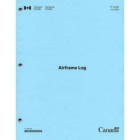 Transport Canada A/C TECH.LOG:AIRFRAME LOG*NEW*