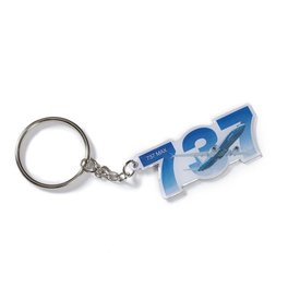 The Boeing Store KEY CHAIN B737 SKY