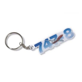 The Boeing Store KEY CHAIN B747 SKY