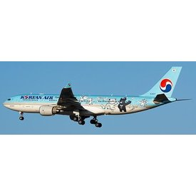 JCWINGS A330-200 Korean Air Pyeong Chang 2018 HL8227 1:200 with stand