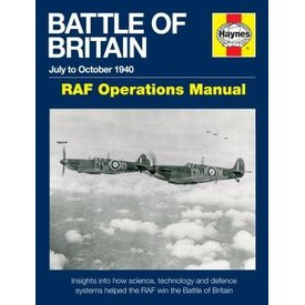 Haynes Publishing Battle of Britain: RAF Operations Manual: July to October 1940 Hardcover