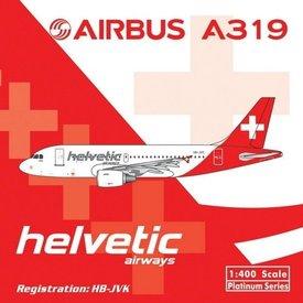 Phoenix A319 Helvetic HB-JVK 1:400