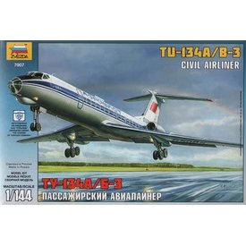 Zvesda ZVESDA TU134A/B3 AEROFLOT (2 MKGS) 1:144