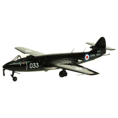 Sea Hawk FGA6 Royal Navy WN108 03 black Radar Test 1:72 with stand**o/p**