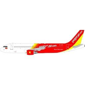 JFOX A320 VietJet Air VN-A695 1:200 With Stand