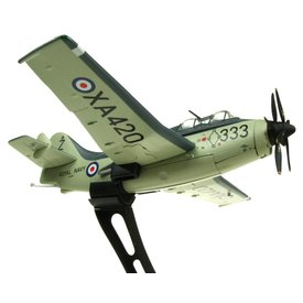 AV72 Gannet AS4 Royal Navy 824 NAS XA420 333 1:72 with stand