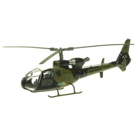 AV72 Gazelle AH1 Royal Marines 3CBS ZA730/F Grant Falklands 1982 camouflage 1:72 with stand