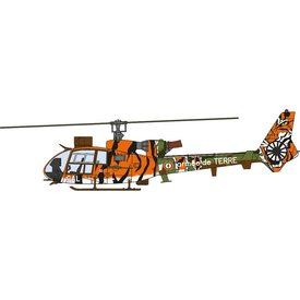 AV72 Gazelle Armee de Terre France Tiger Meet L 1:72 with stand