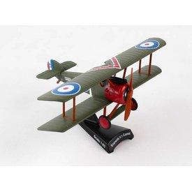 Postage Stamp PS Sopwith Camel RFC Roy Brown 1:63 with stand