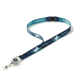 Boeing Store 737 MAX Shadow Graphic Lanyard