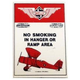 MAGNET SKELLY NO SMOKING