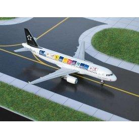 Gemini Jets A320 Austrain Airlines Star Alliance (original) 1:400