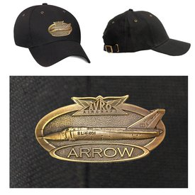 Labusch Skywear CAP BRASS ARROW BLACK LAB