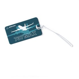 The Boeing Store 737 MAX Shadow Luggage Tag