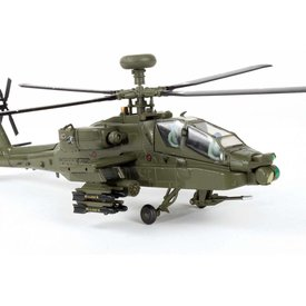 Air Force 1 Model Co. AH64A Apache US Army 227 Aviation Reg't 1st Armored Div.1:72 w/stand