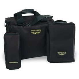 Jeppesen Jeppesen Aviator Flight Bag Black
