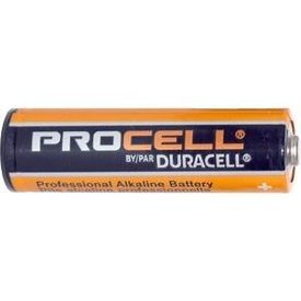 Battery AA Box of 4 Duracell Procell